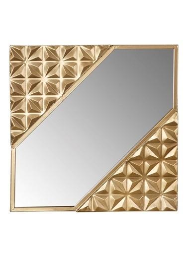 Vitale Saga Gold Duvar Aynası Renkli